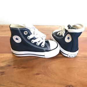 New baby converse high tops size 3
